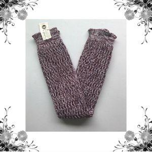 Free People Accessories - {Free People} Triple Creek Knit Leg Warmers